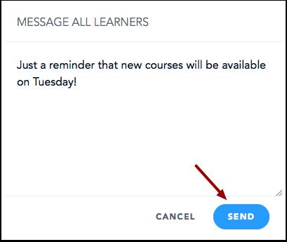Envoyer un message