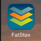 Open the FatStax App on your iPhone