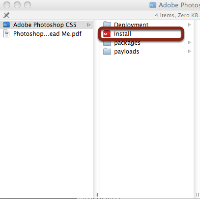 how to open dmg file in photoshop