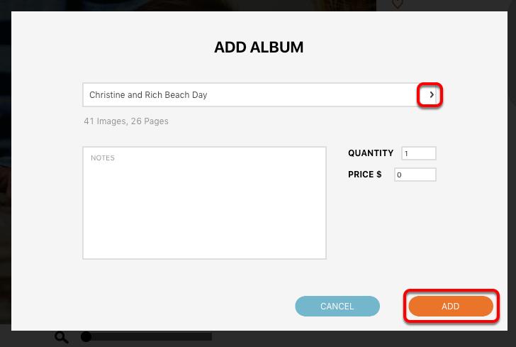 Add an Album