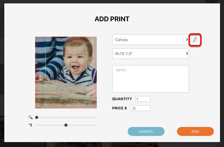 Adding a Print