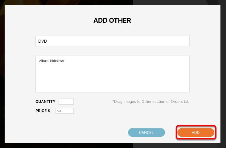 Adding Custom Items