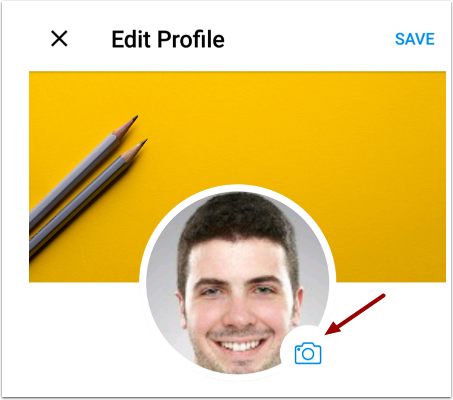Edit Profile Picture