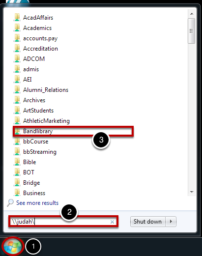 Connect to Server in Windows