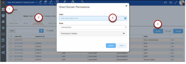 Domain Tool - Assigning a Domain Role