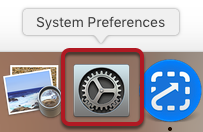 "Open System Preferences and click on ""Users & Groups"""