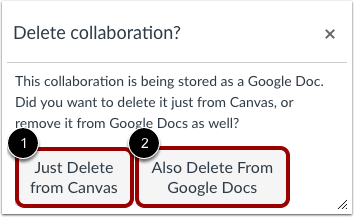 Delete Google Doc
