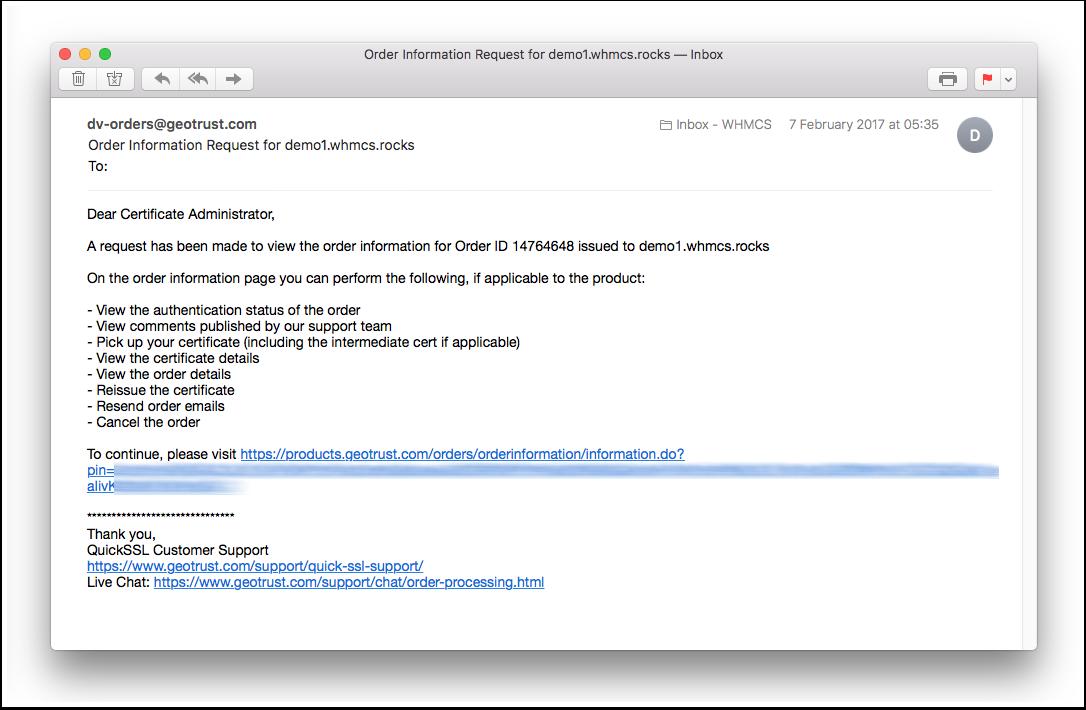 Reissuing A Certificate Managing Orders Symantec Ssl