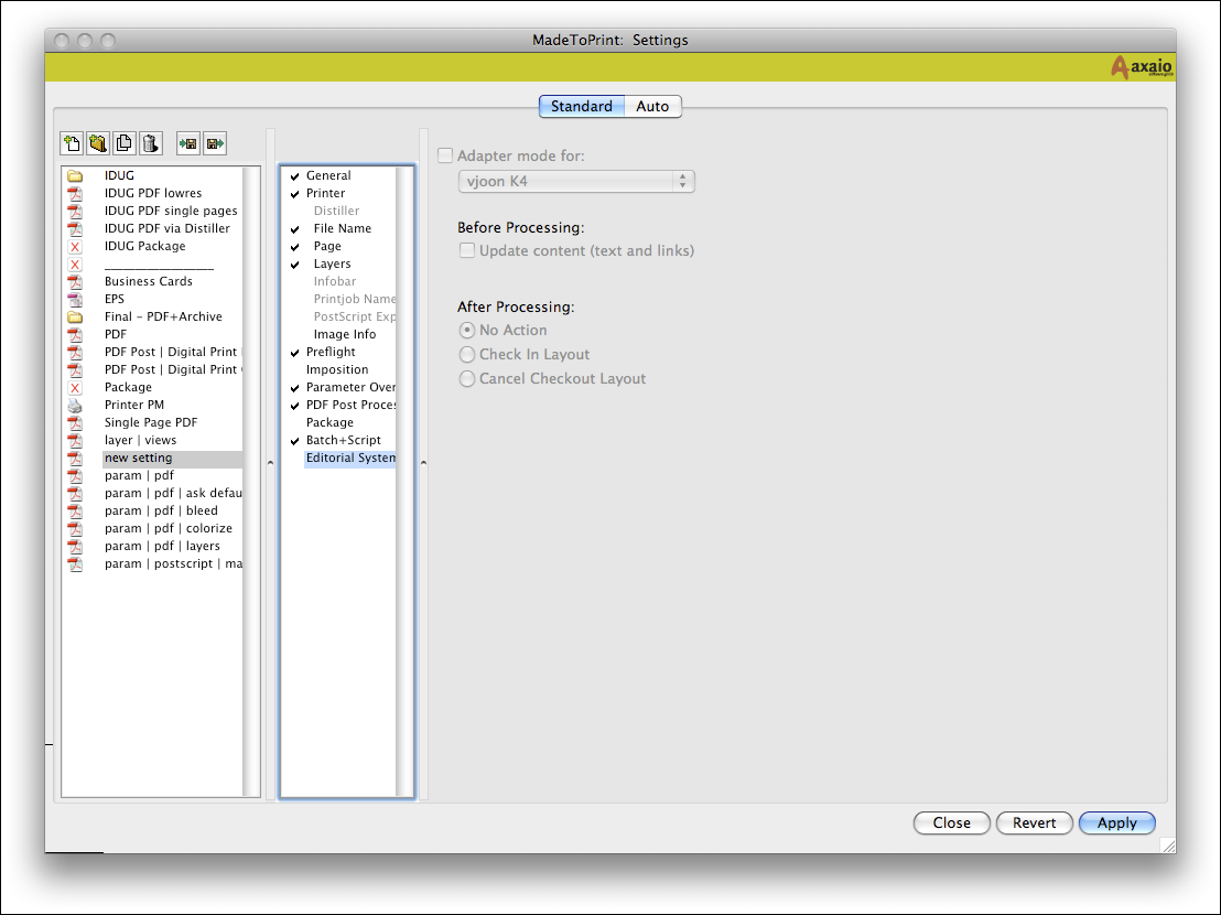 Application – Setup and Run MadeToPrint | MadeToPrint Manual | Step