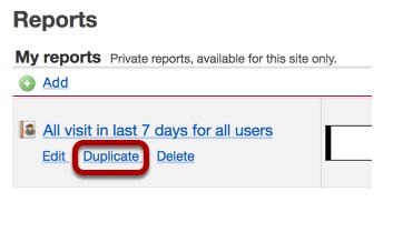 Click Duplicate.