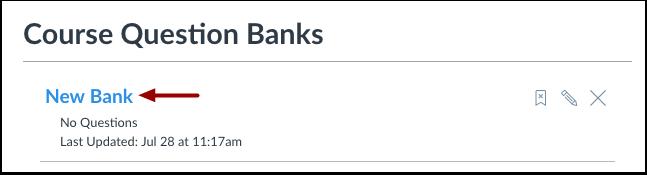 Åpne spørsmålsbank