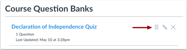 Unbookmark Question Bank