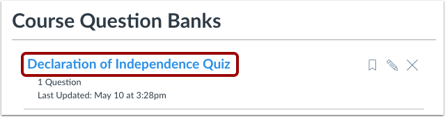 Open Question Bank