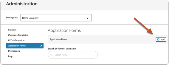 "Click ""Add New"" to begin creating a new form, or ""Edit"" to edit an existing one"