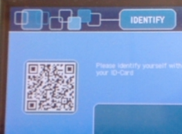 Scan QR Code Located on Screen of Any Copier or Printed on Any Printer on Campus