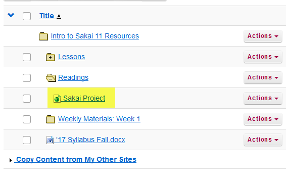 View links in Resources.