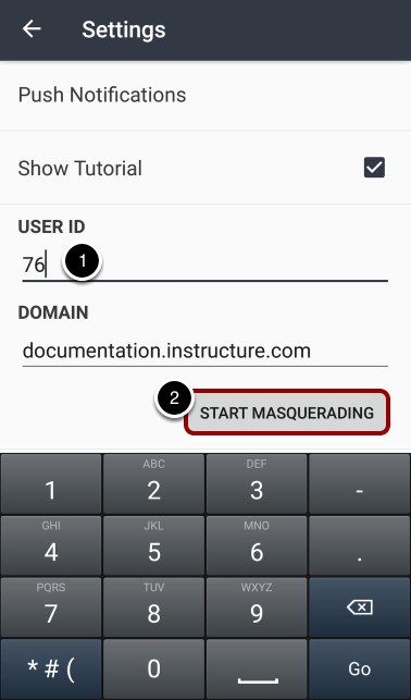 Start Masquerading