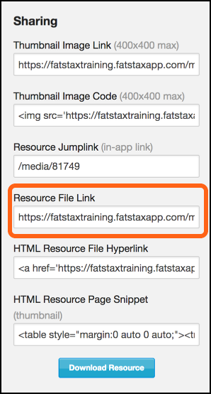 Resource File Link