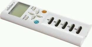 3. The student remote.