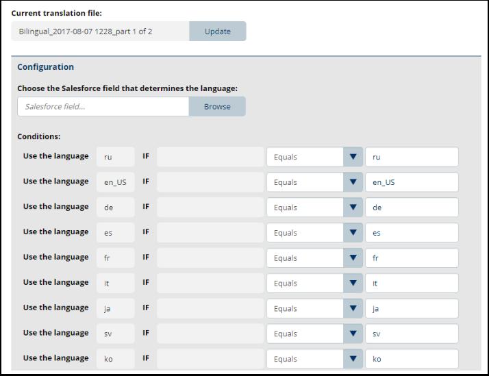Using Salesforce Translation Workbench – Documill Support