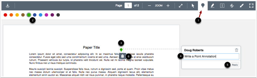 Add Point Annotation