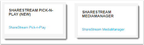 Sharestream blocks