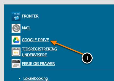 Google Drev i browseren