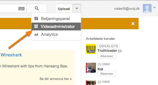 Der skal lige laves en Youtubekanal