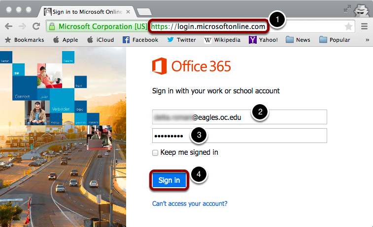 micro office 365 login