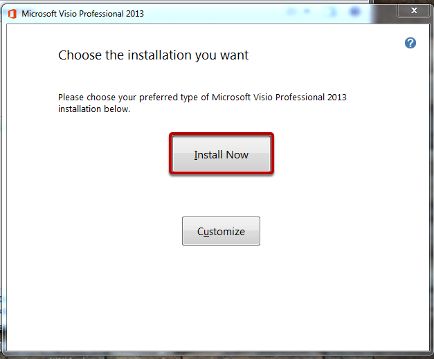 """Click """"Install Now"""""""