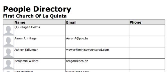 Directory: