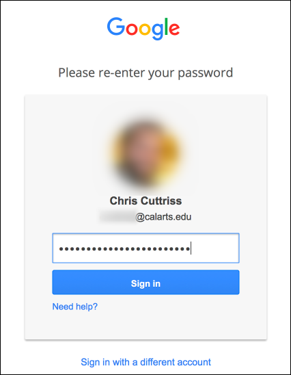 Confirm your Current Password
