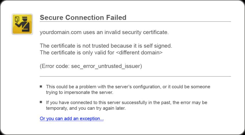 Ssl Certification Emarsys