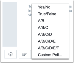 Select Poll Type