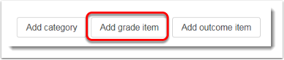 Add grade item button.