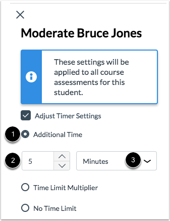Add Additional Time