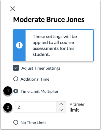 Add Time Limit Multiplier