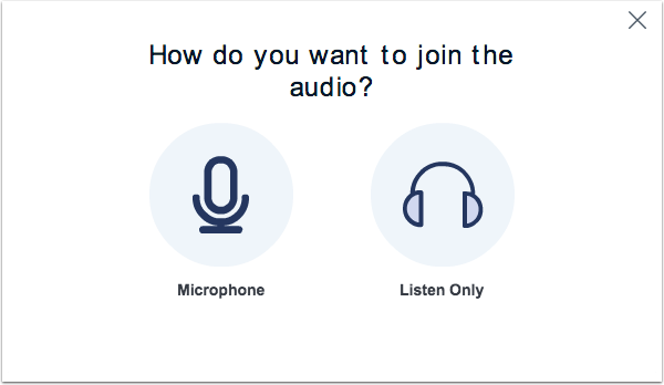 Join Audio