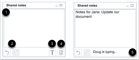 View Notes Options
