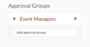 approval groups