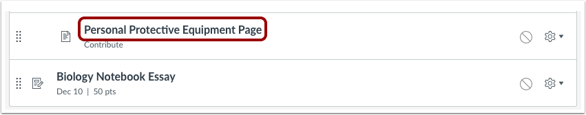 Open Page