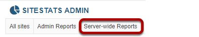 Click Server-wide Reports.