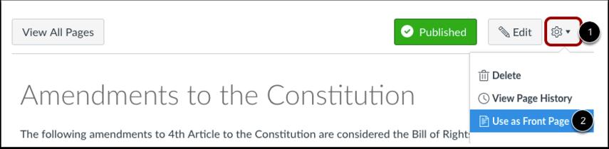 Haga clic en el ícono de Configuraciones (Settings).