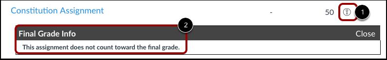 View Grade Info