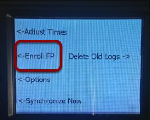 Go to Enroll FP