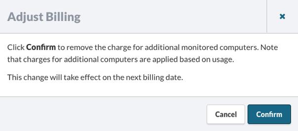 Adjust Billing