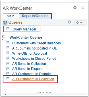 Reports/Queries