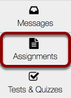 Go to the Assignments.