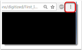 'Customize and control Google Chrome' menu is selected.