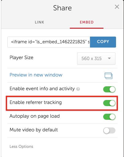 How Do I Get Referrer Data From My Event Embeds? – Livestream